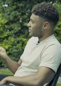 Ox: I took Tyga on a stadium tour and he loved it!