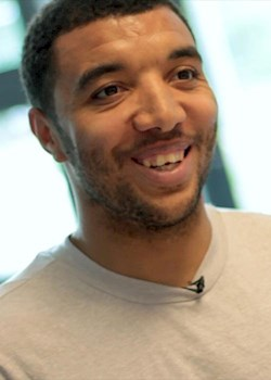 Deeney answers fans' questions - while building a Toy story character